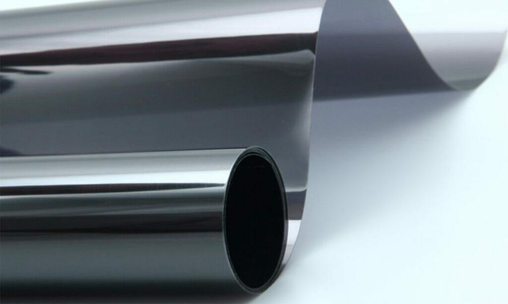 a roll of 2 ply window film