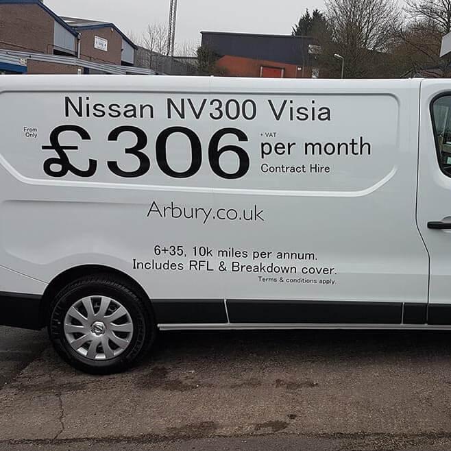 NV300 Van Sign Writing