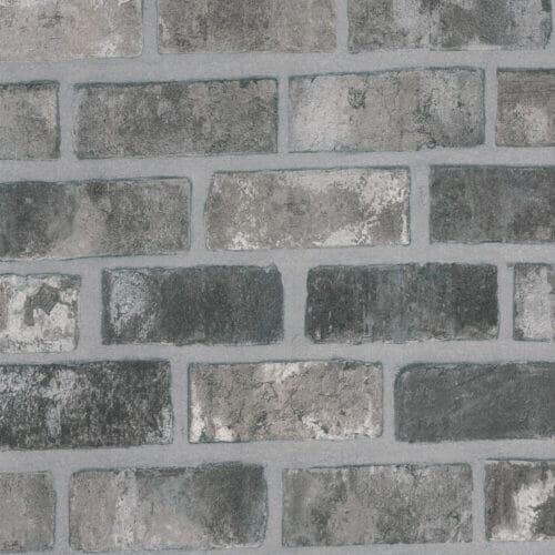 Cover Styl Grey Bricks Vinyl Wrap Close Up