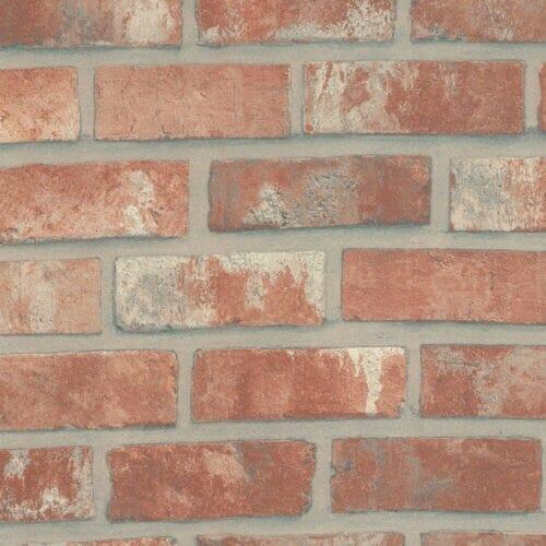 Cover Styl Red Bricks Vinyl Wrap Close Up