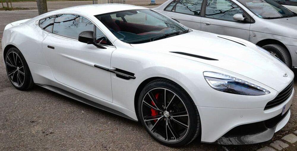 Aston Martin Vanquish Evowrap