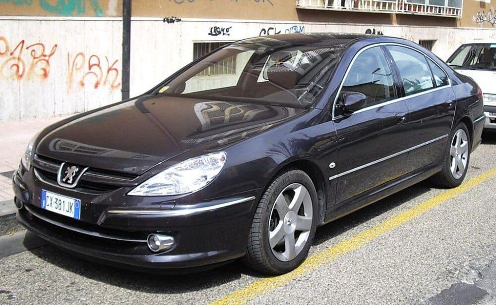 Peugeot 607 Evowrap