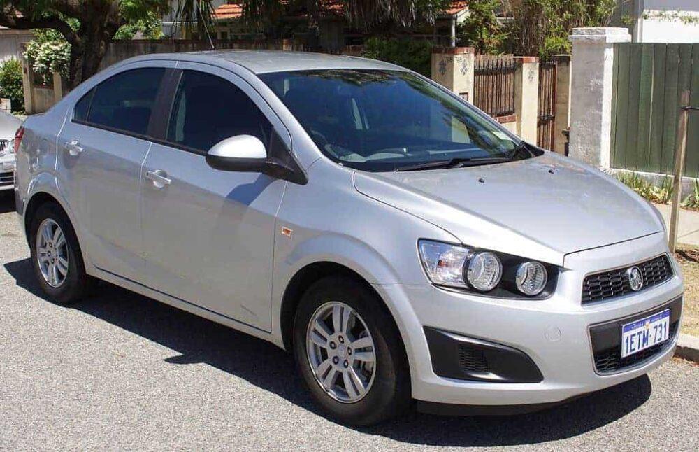 Holden Barina Evowrap