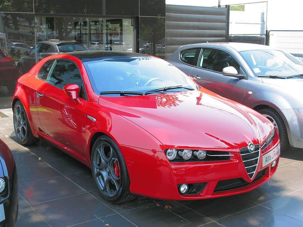 Alfa Romeo Brera  Evowrap - Window Film & Vinyl Wrap
