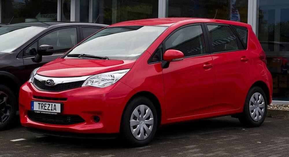 Subaru Trezia Evowrap