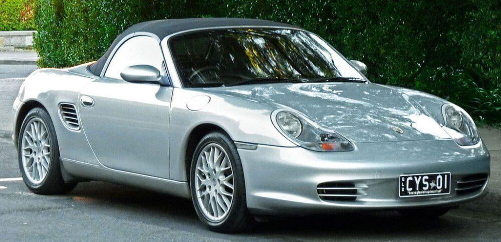 Porsche Boxster Evowrap
