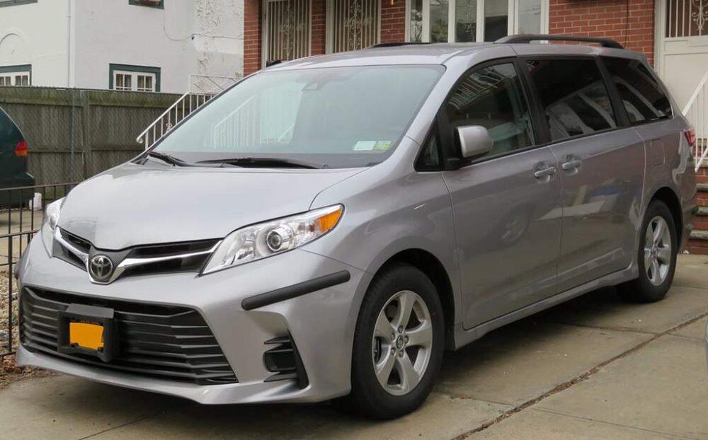 Toyota Sienna Evowrap