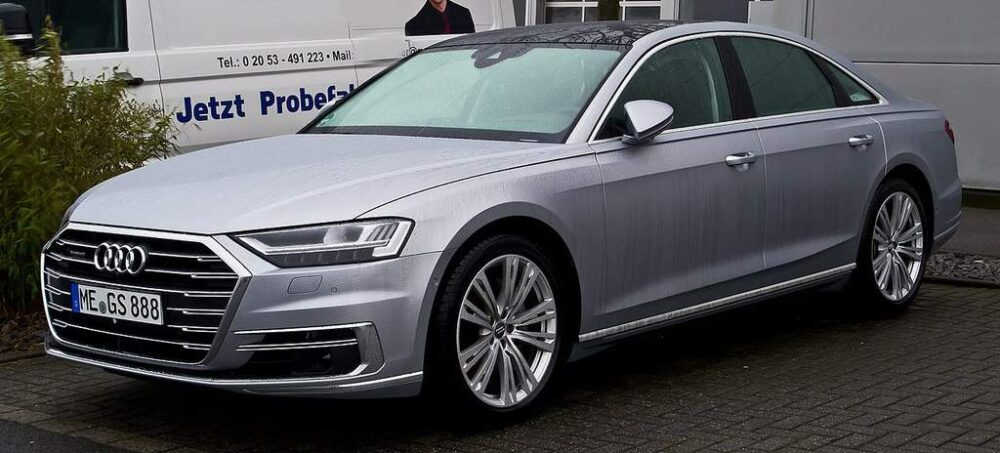 Audi A8 Evowrap