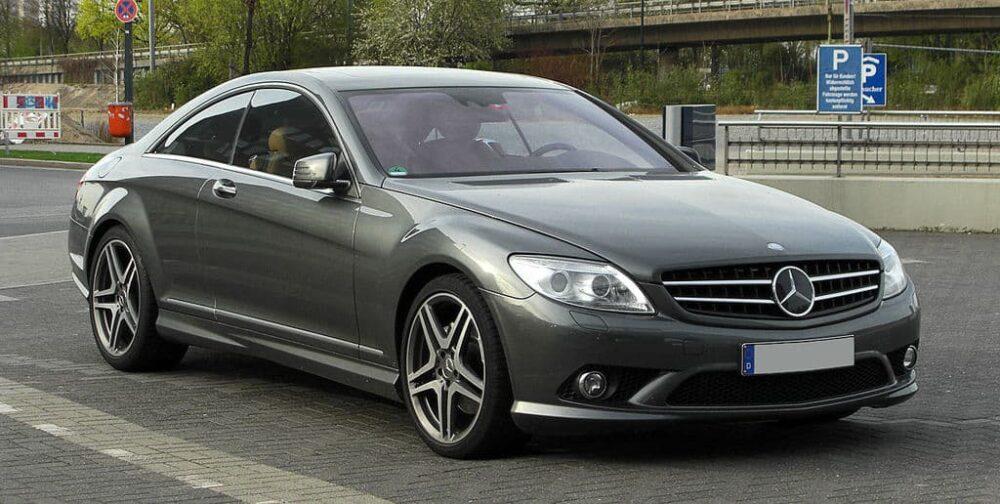 Mercedes CL  Evowrap
