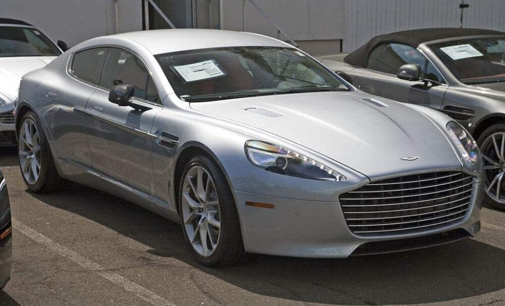 Aston Martin Rapide Evowrap