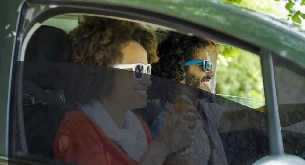 Medium Car Tint Installed on Front Windows