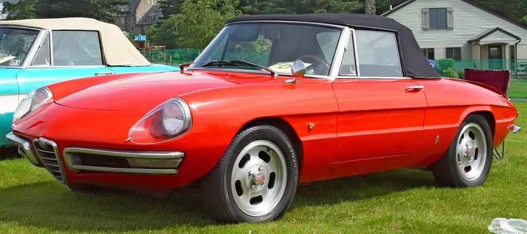 Alfa Romeo Spider  Evowrap - Window Film & Vinyl Wrap