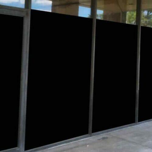 Black Out Window Film Evowrap