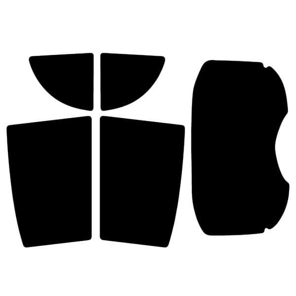Mitsubishi I-Miev  Evowrap - Window Film & Vinyl Wrap