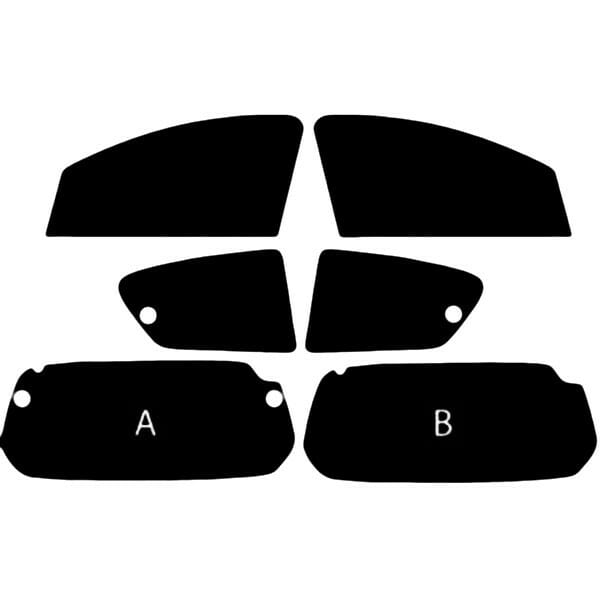 Toyota Aygo  Evowrap - Window Film & Vinyl Wrap