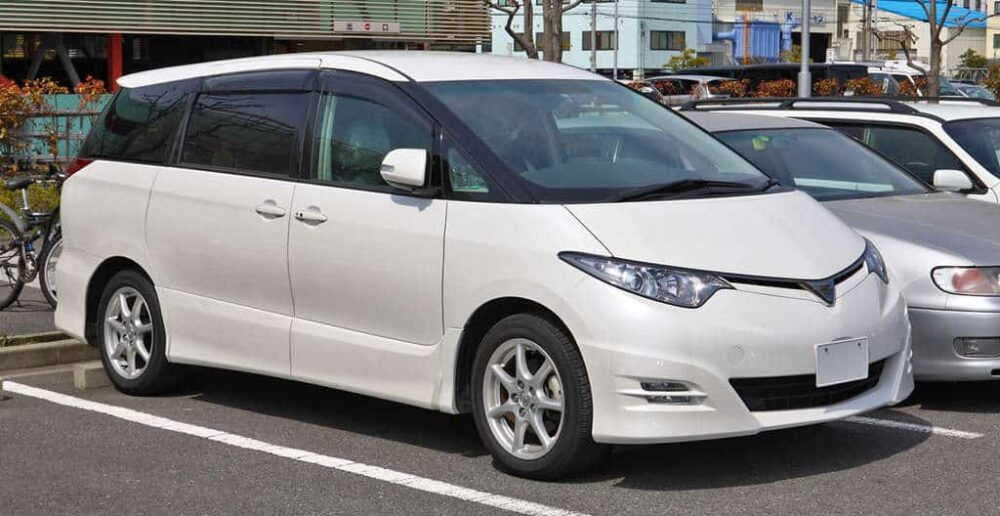 Toyota Previa Evowrap