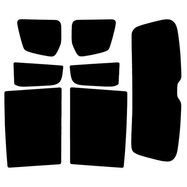 Volkswagen Touran  Evowrap - Window Film & Vinyl Wrap