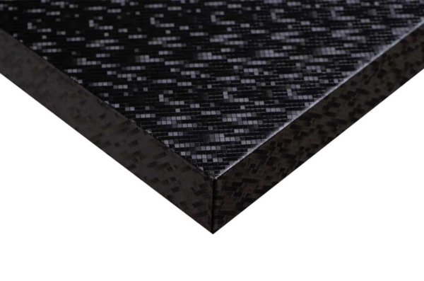 Black Laser Architectural Vinyl Wrap