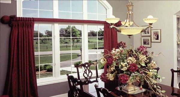 coolclear anti fade window film in dining room windows