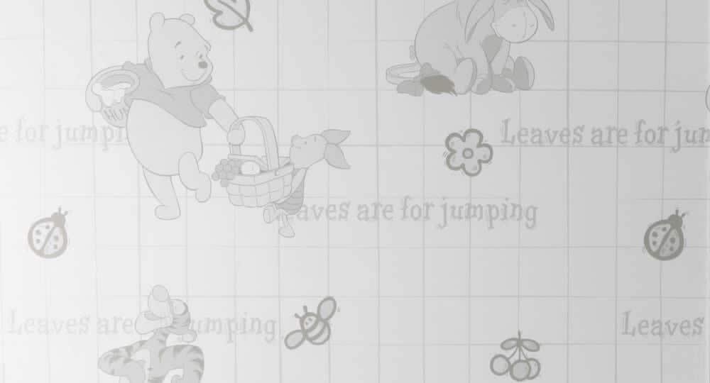 Disney Winnie the Pooh Childrens Window Film