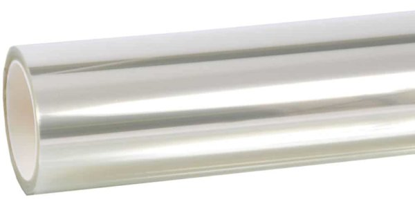 a roll of clear bomb blast protection film