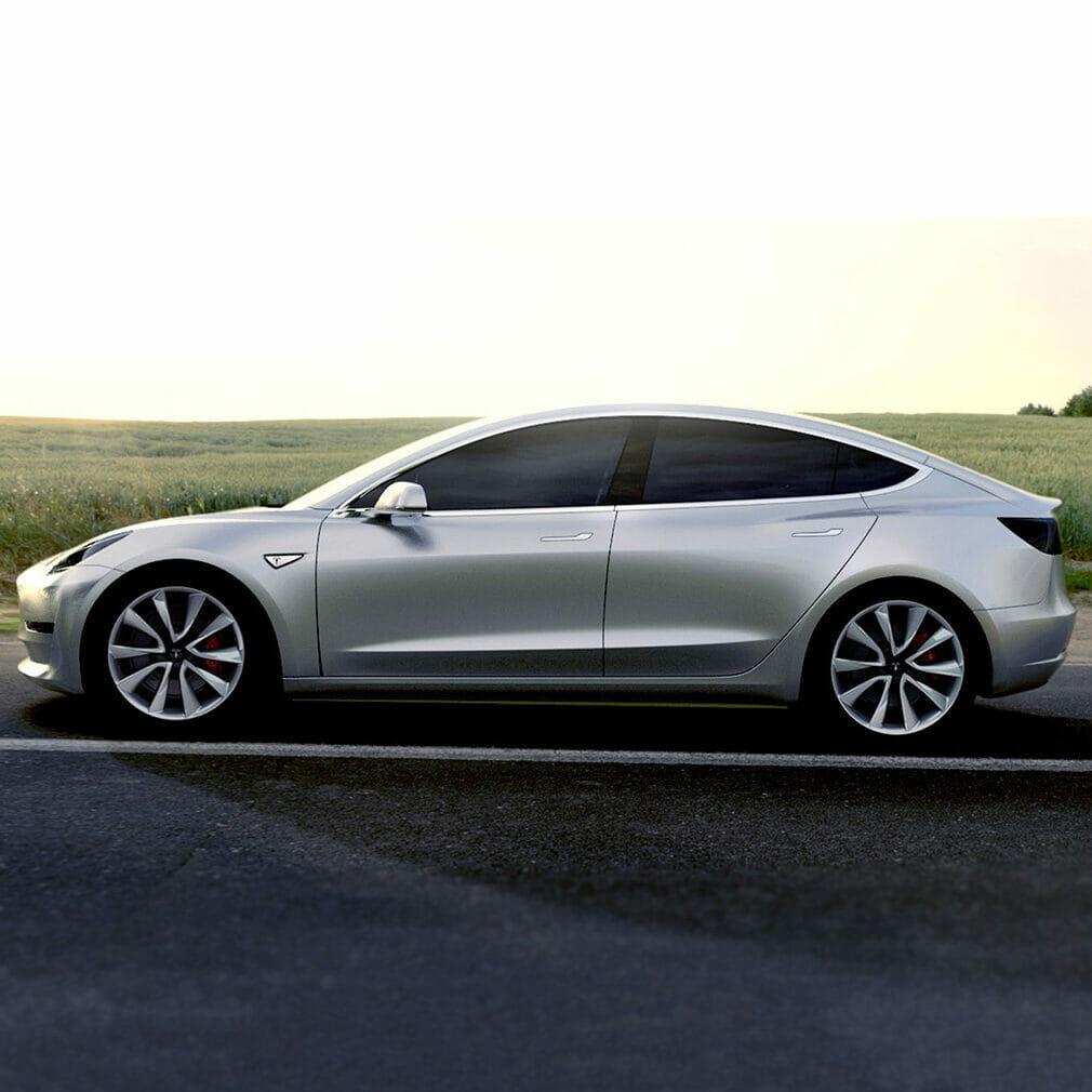 Tesla Model 3  Evowrap - Window Film & Vinyl Wrap