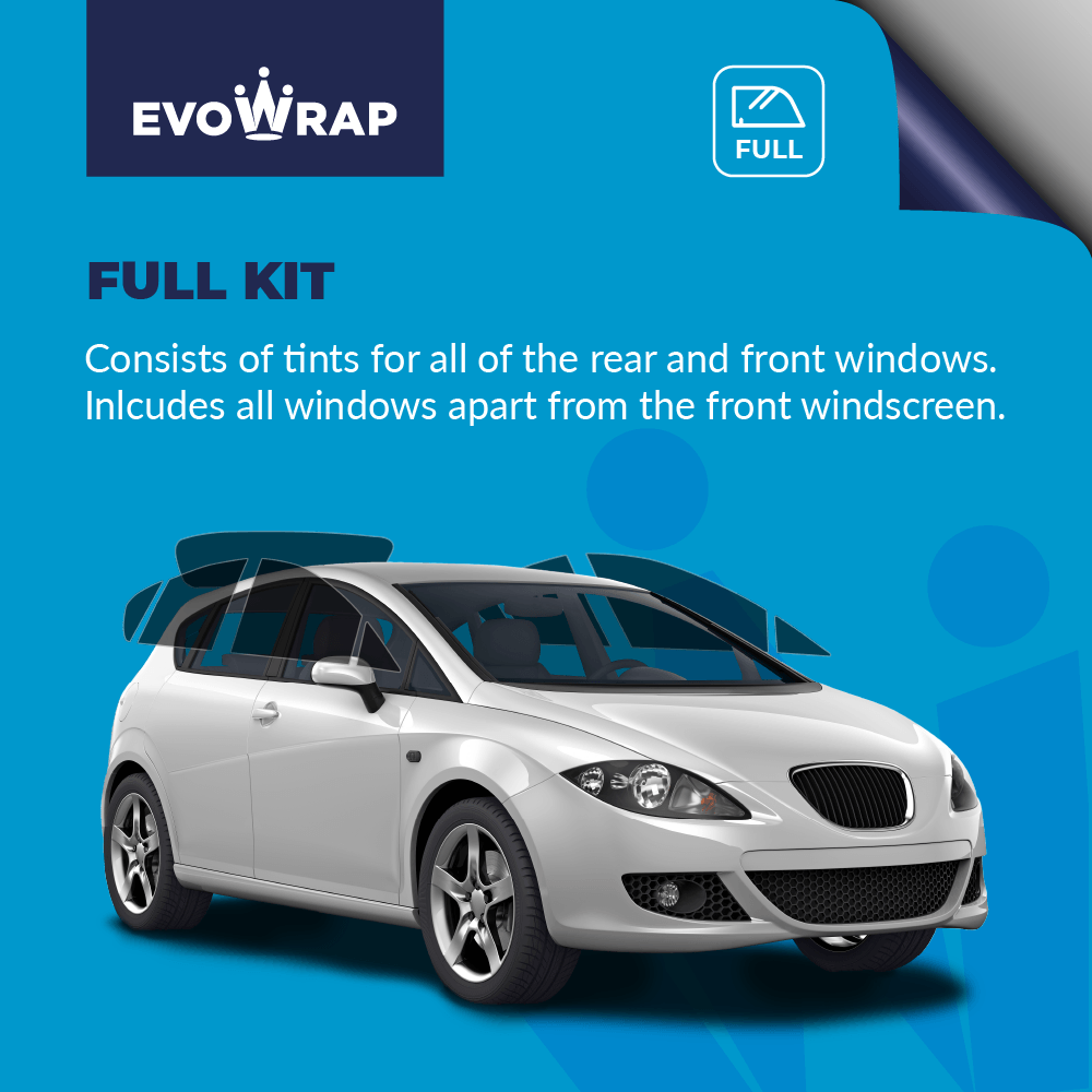 Evowarp Pre Cut Car Window Tint full kit