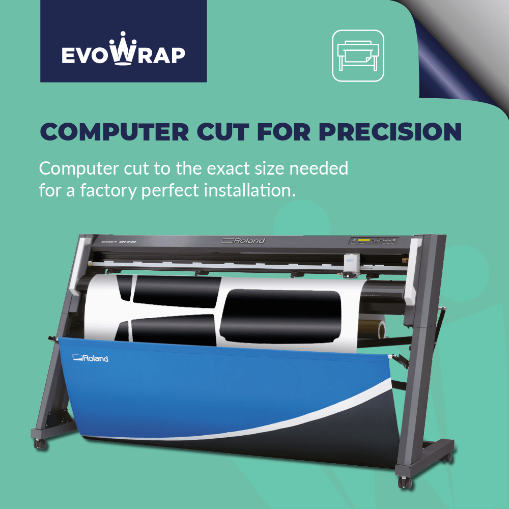 Evowarp Pre Cut Car Window Tint computer cut
