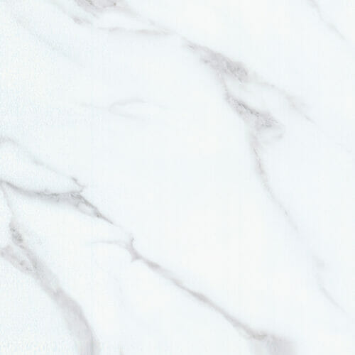 Cover Styl Gloss White Marble Vinyl Wrap Close Up